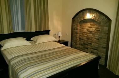 Гостиничные шторы, комплект для спальни полосатые зеленого цвета