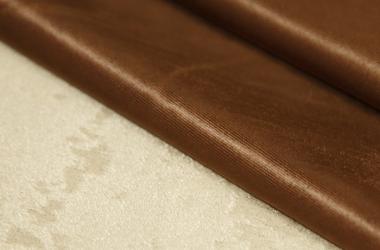 Ткань блэкаут темно коричневого цвета