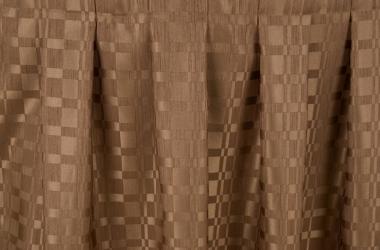 Юбка на стол коричневая